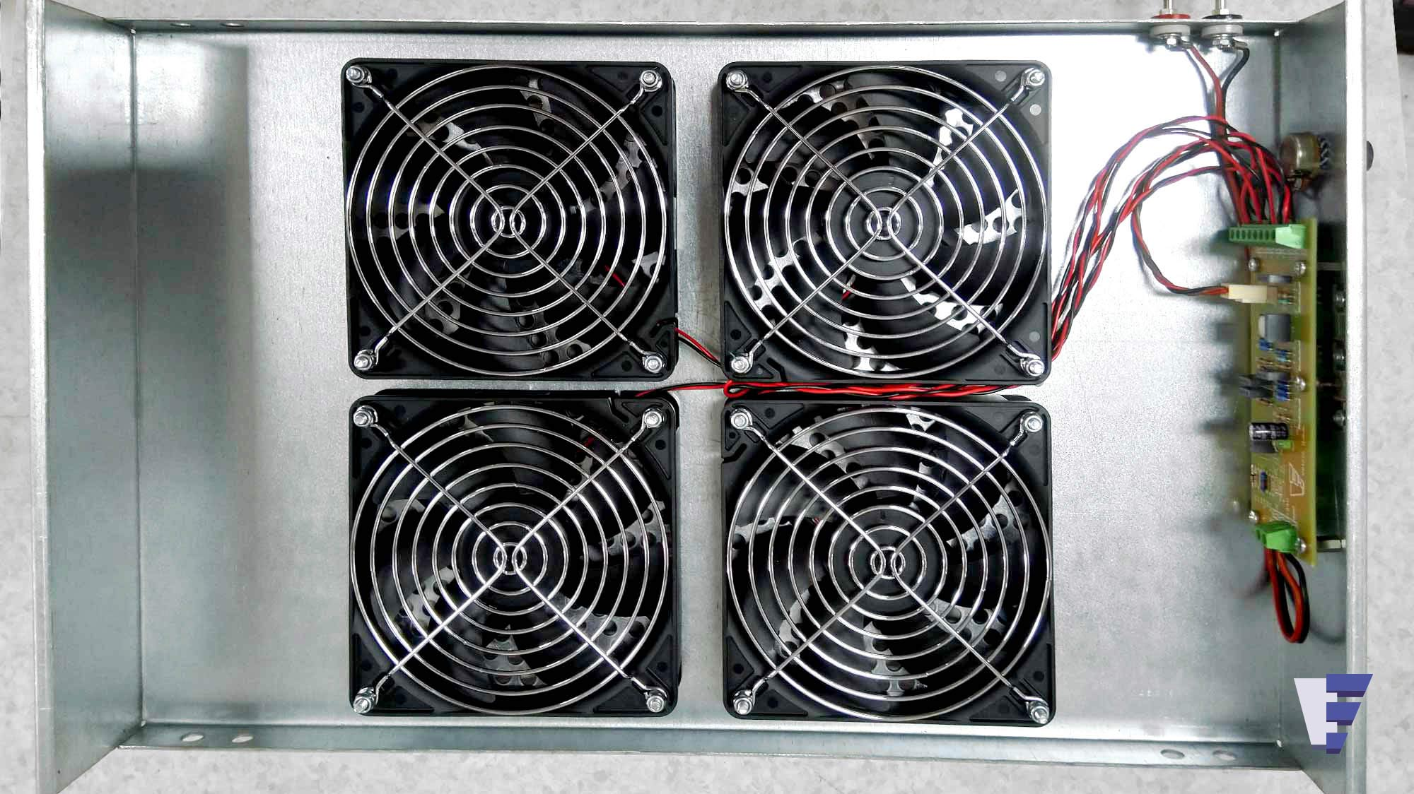 Velčić Ltd - Desk fan unit - Air flow regulation