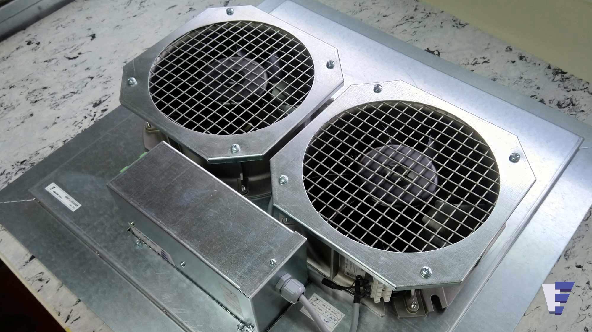 Velčić Ltd - Floor fan unit - data centers