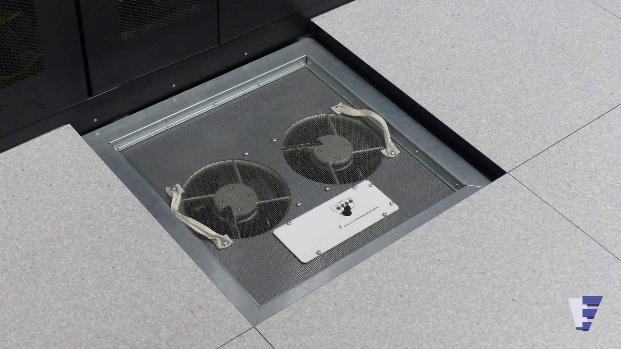 Velčić Ltd - Floor fan unit - gradually regulated 0-100%