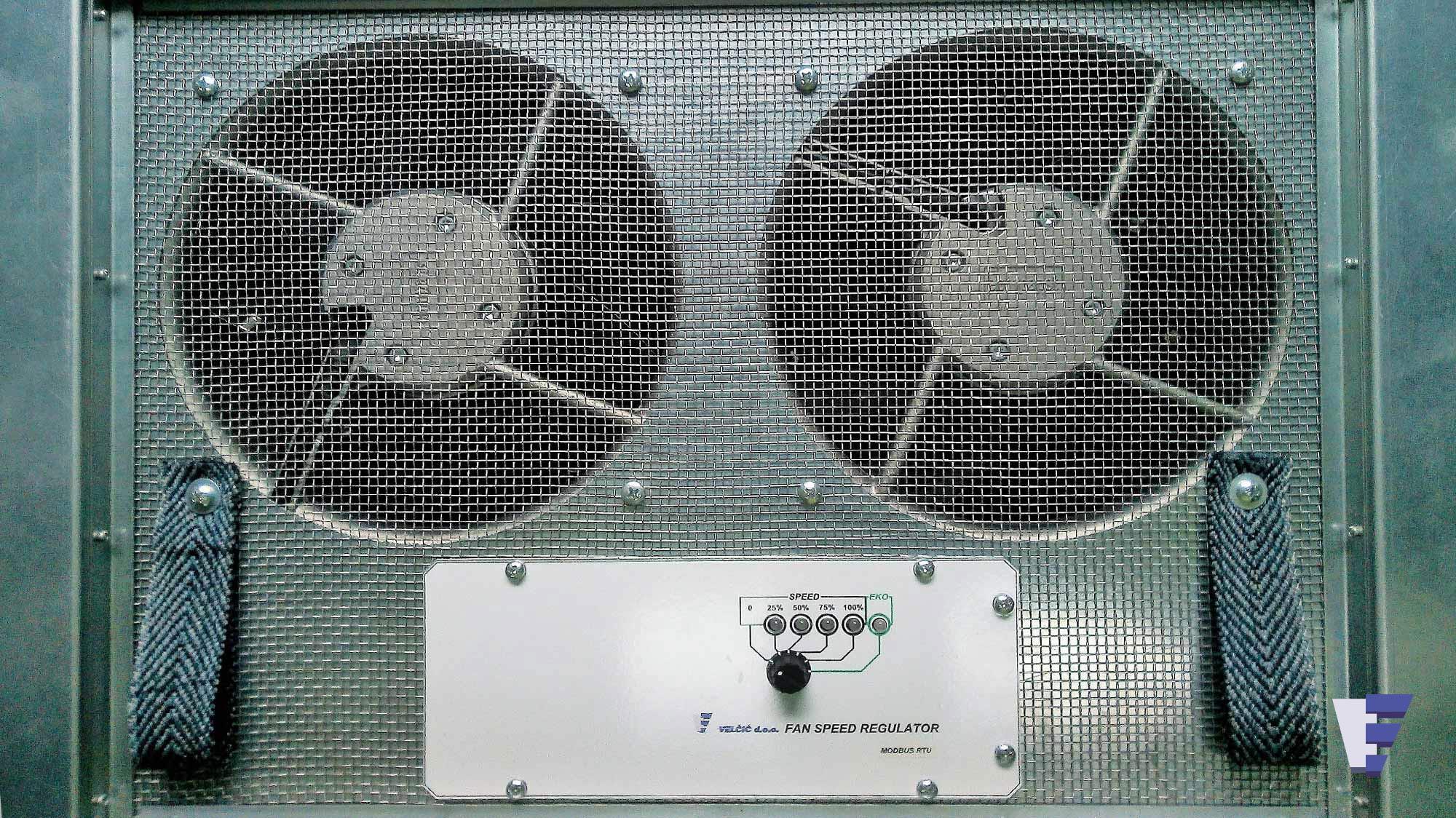 Velčić Ltd - Floor fan unit - increased ventilation
