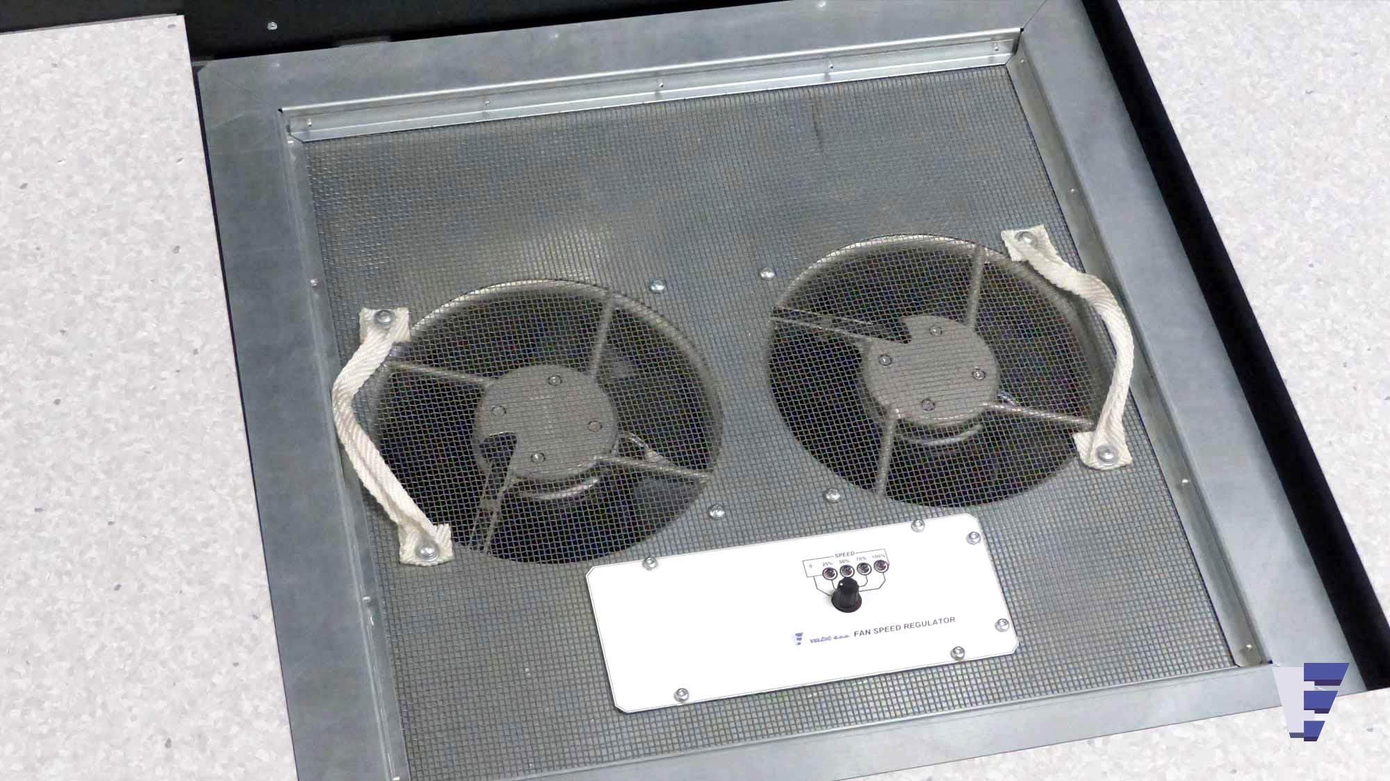 Velčić Ltd - Floor fan unit - telecommunication systems