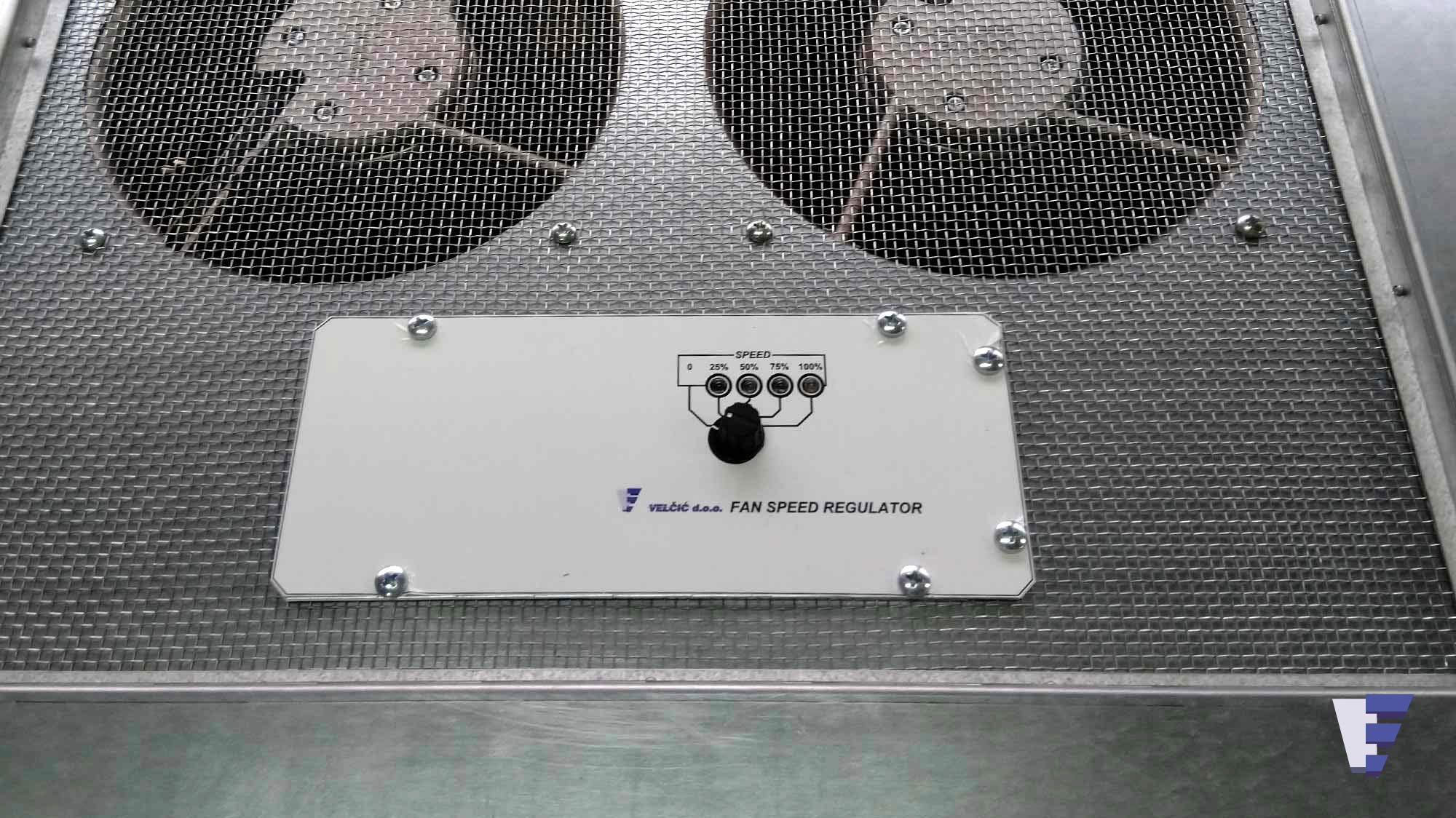 Velčić Ltd - Floor fan unit - whan there is not enough cooled
