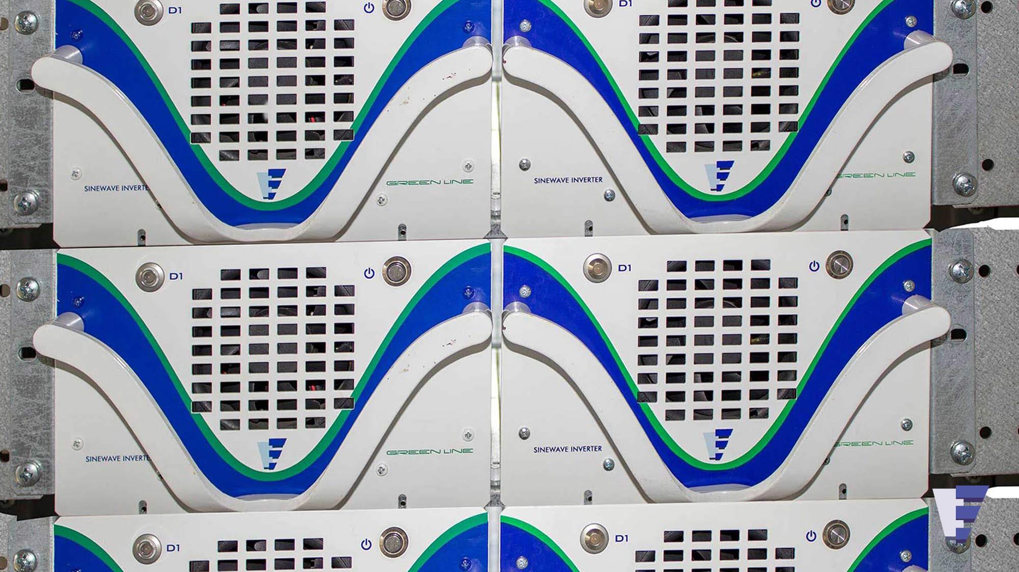 Velčić Ltd - Inverter - power supply for telecom equipments