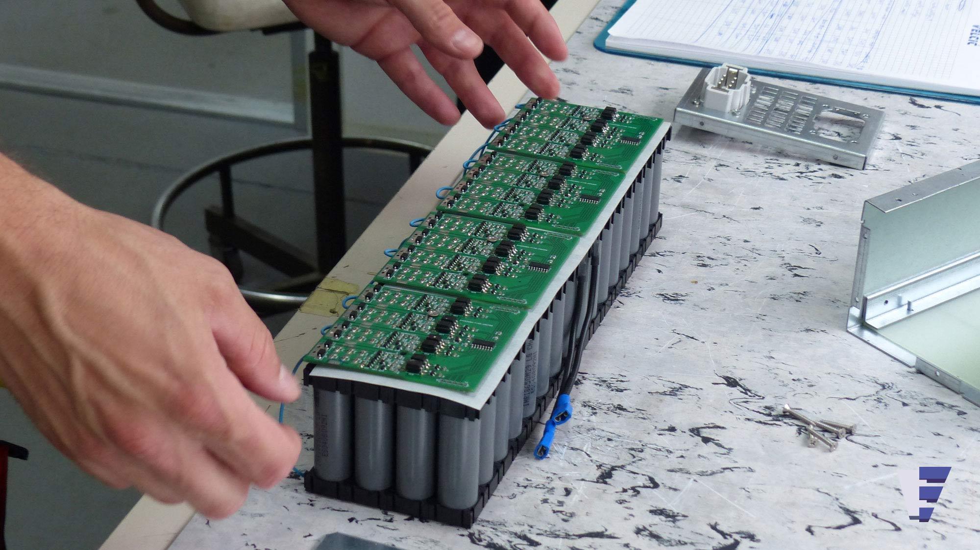 Velčić Ltd - Li-Ion battery modules - Electric Power boats