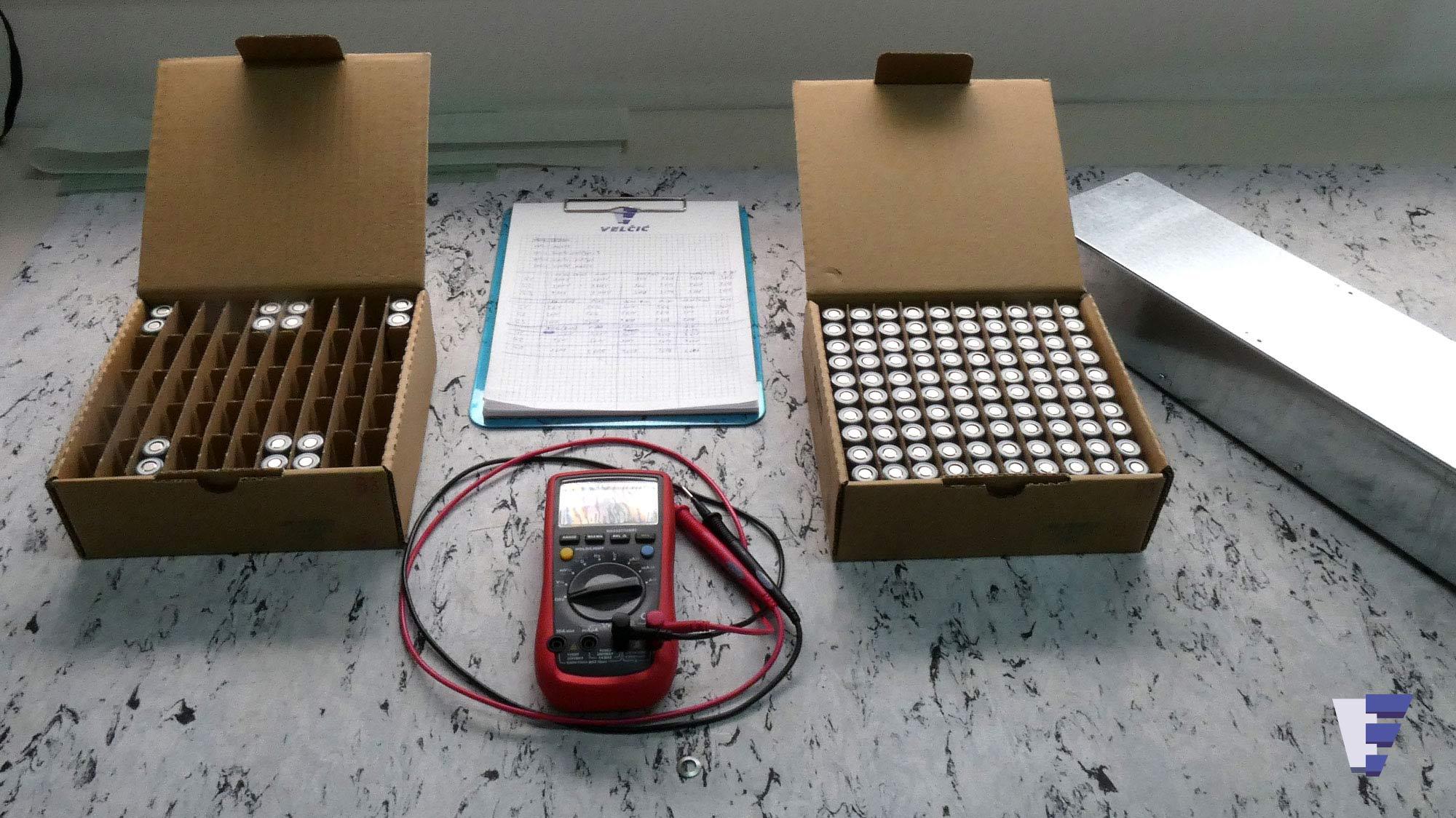 Velčić Ltd - Li-Ion battery modules - renewable marine energy