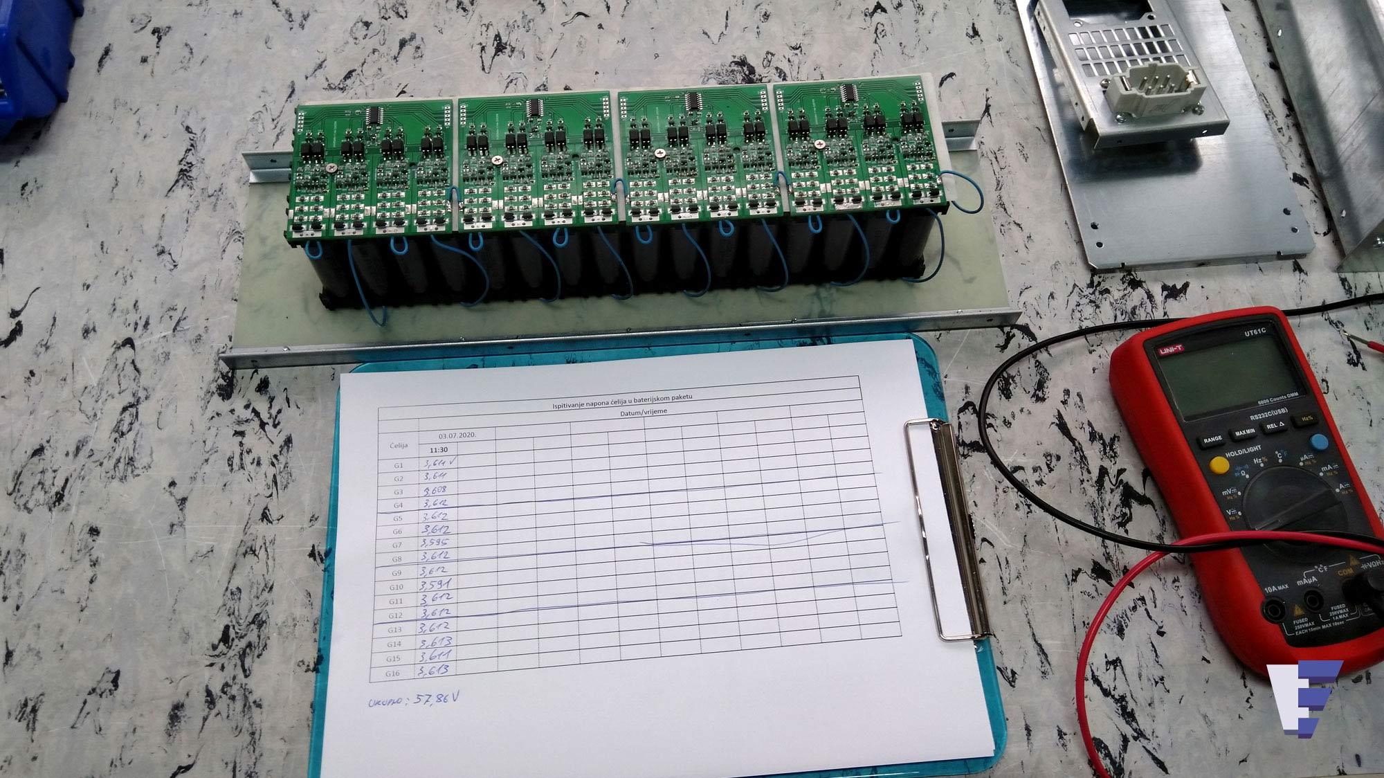 Velčić Ltd - Li-Ion battery modules - turn-key solution