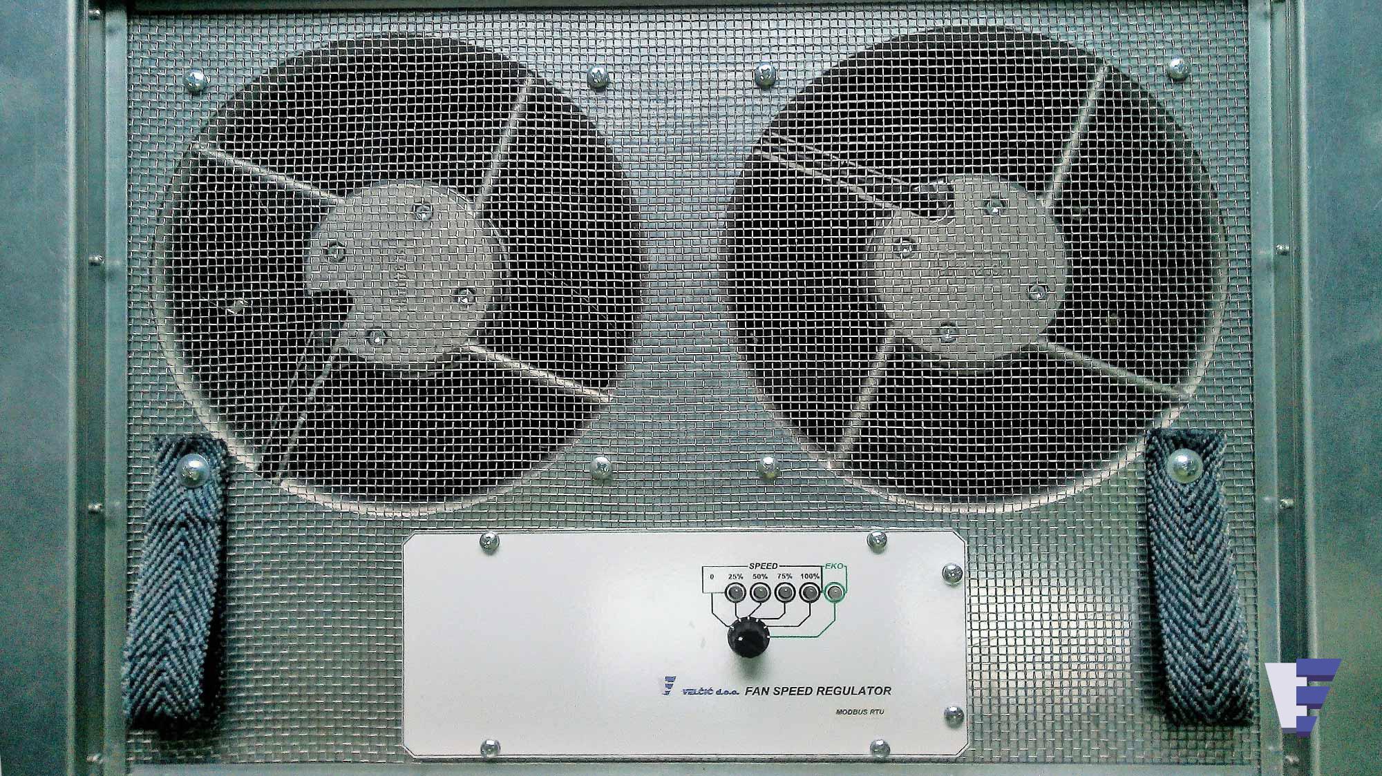 Velčić d.o.o. - Podna ventilatorska jedinica - hlađenje ispre