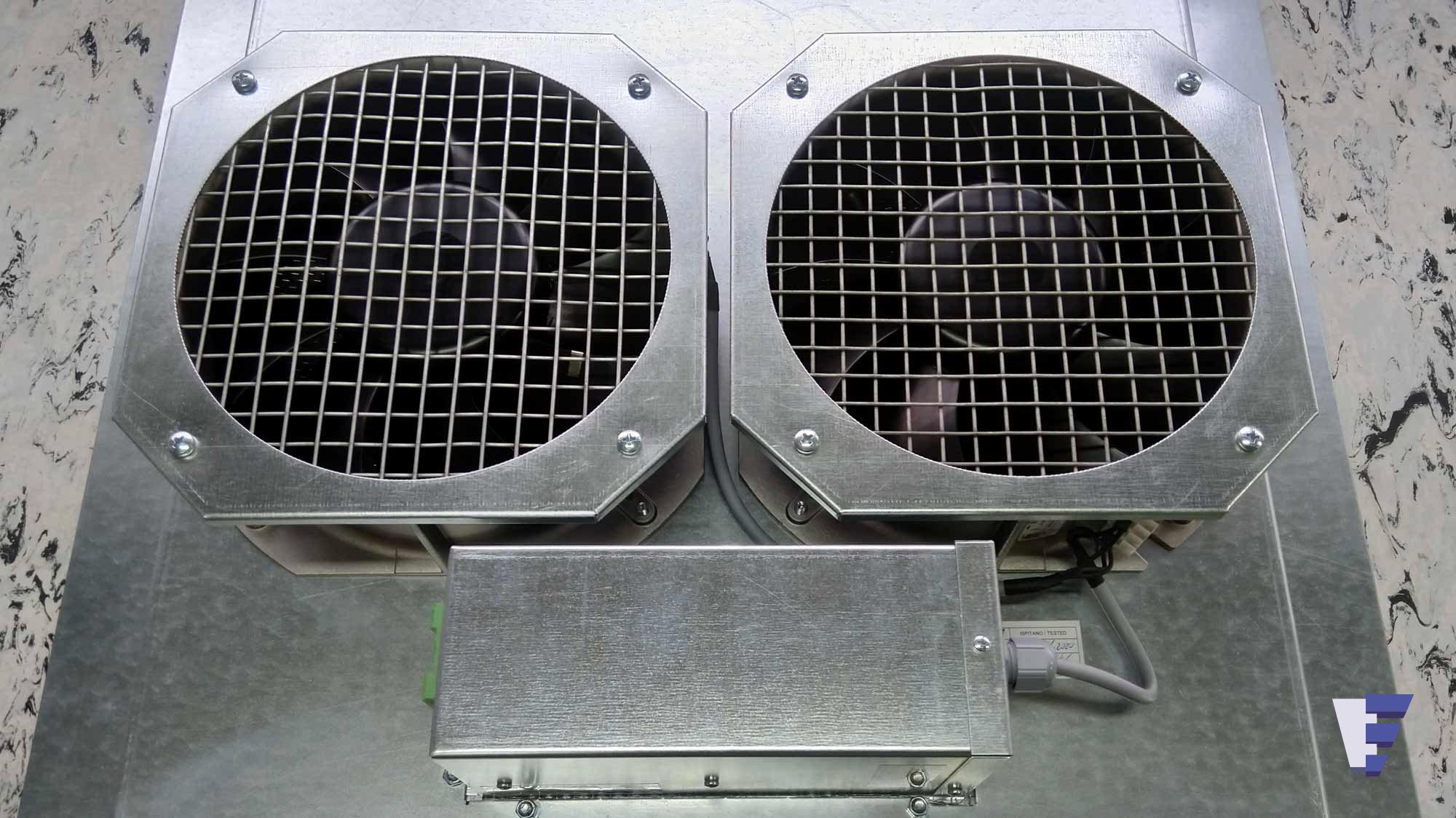 Velčić d.o.o. - Podna ventilatorska jedinica - hlađenje u transportu