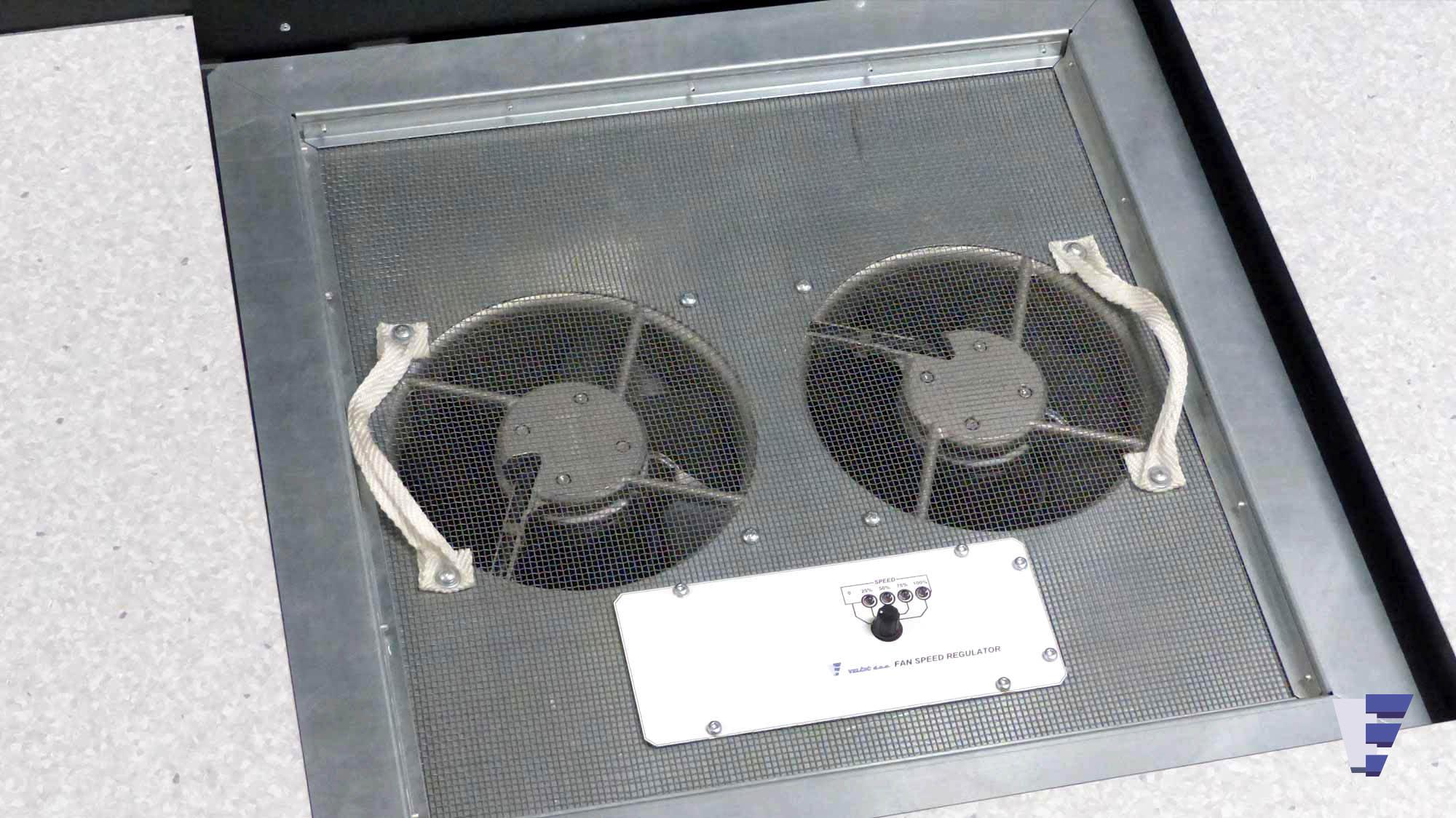 Velčić d.o.o. - Podna ventilatorska jedinica - server sobe